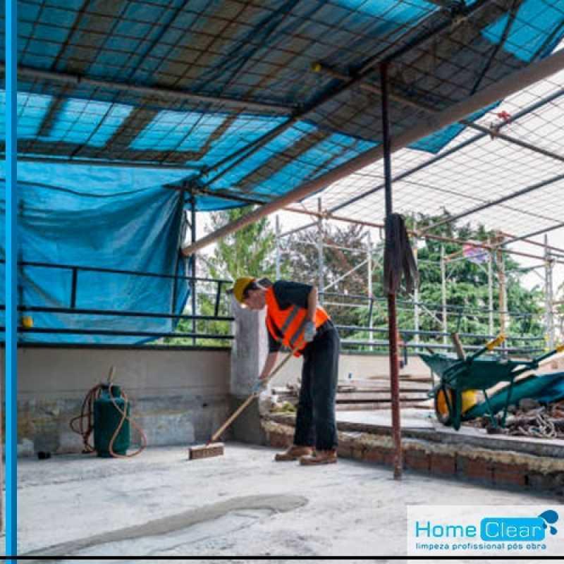 Limpeza Pós Construção Valor Vila Buarque - Empresa de Limpeza Pós Mudança