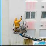 limpeza de fachada para prédio Taboão da Serra