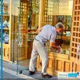 limpeza para fachada comercial