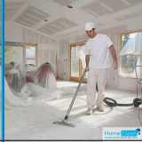 limpeza pós obra a seco