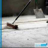 serviço de limpeza para construção Água Branca