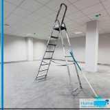 serviço de limpeza para construção